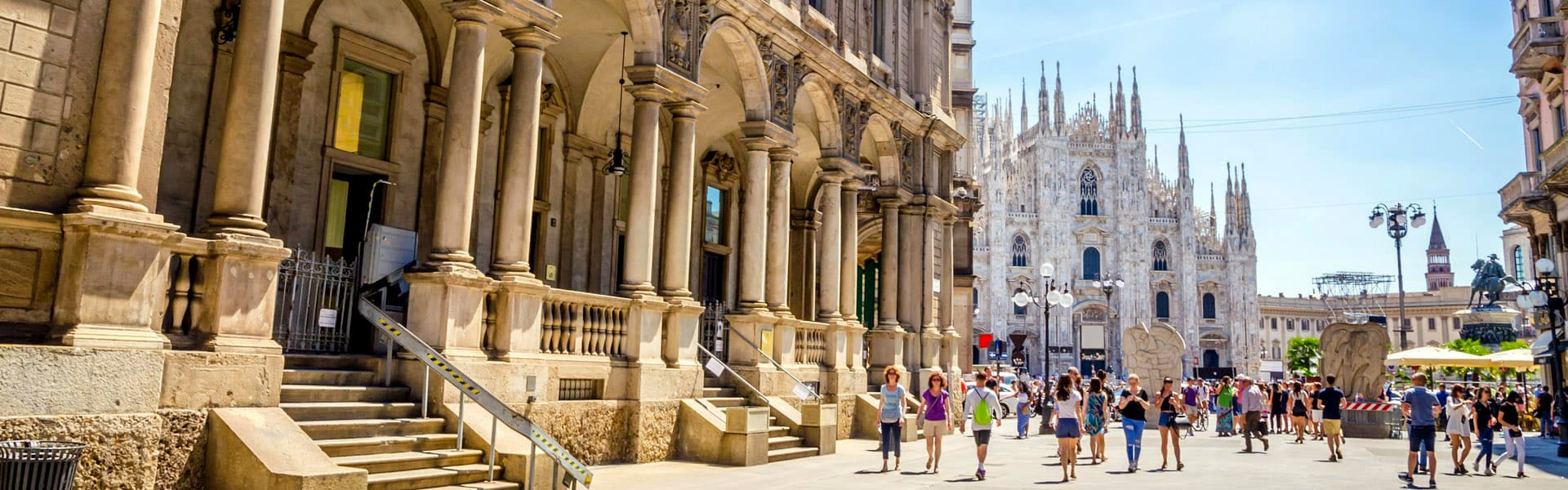 Индивидуальные обзорные экскурсии по Милану