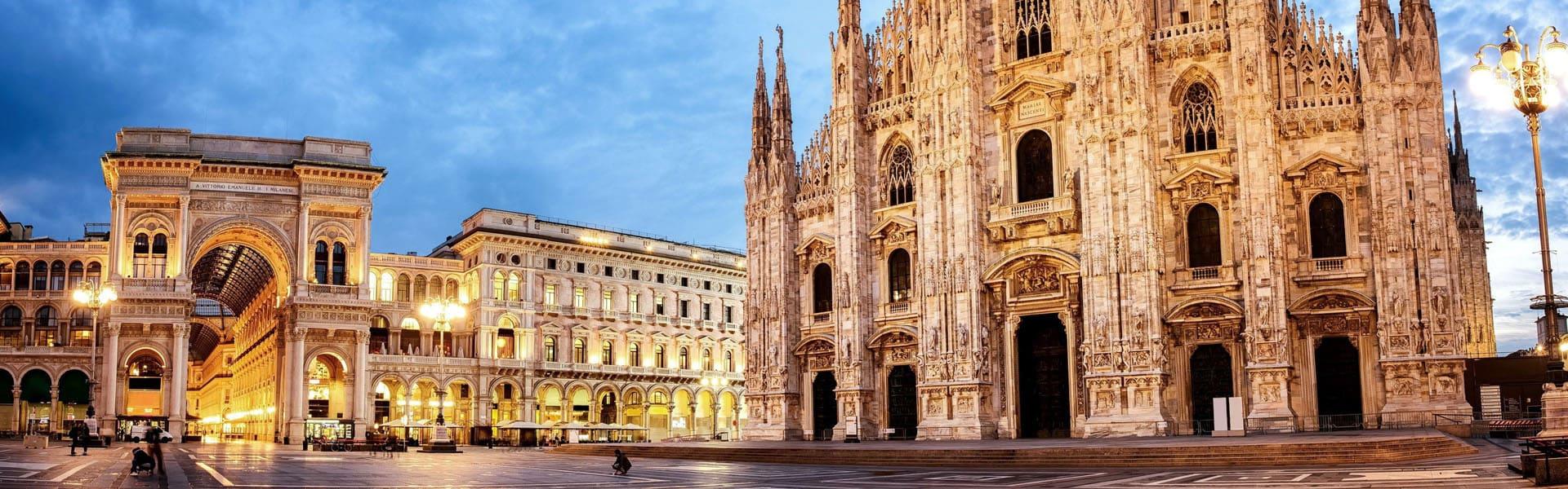 Групповые обзорные экскурсии по Милану